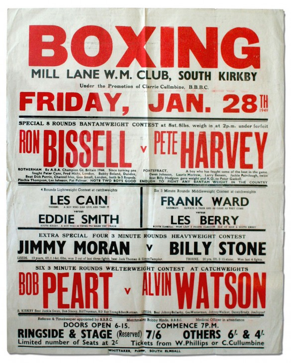 Friday Find Boxing Posters Typedeck