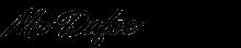 Mr Dafoe font