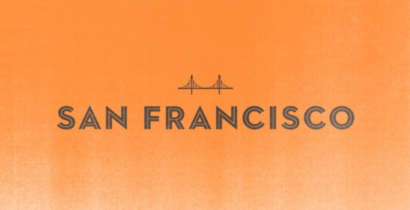 San Francisco logotype by Albin Holmqvist