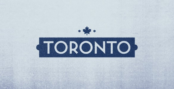 Toronto logotype by Albin Holmqvist