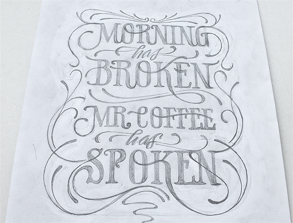 Coffee poster by Simon Ålander