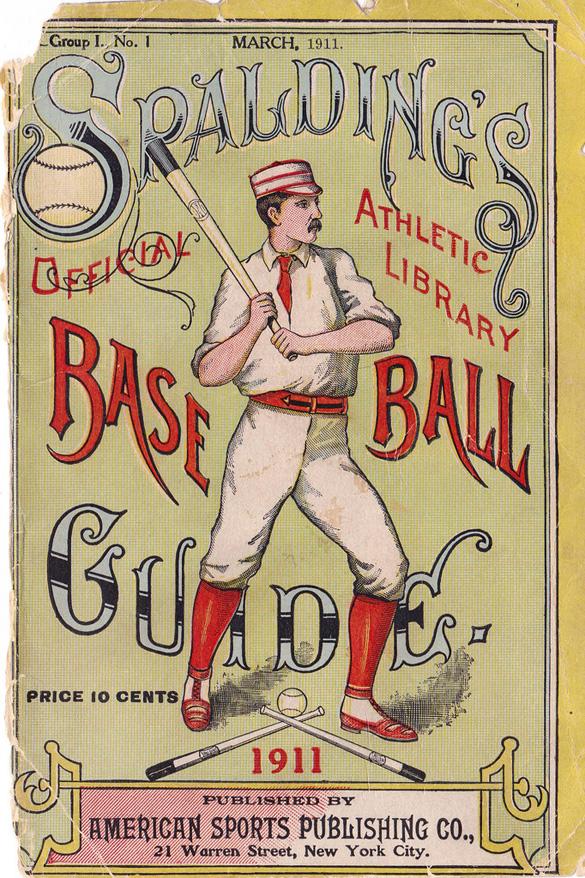 1911 Baseball Guide