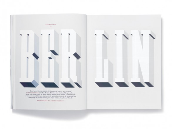Elephant Magazine type by Studio8 Design