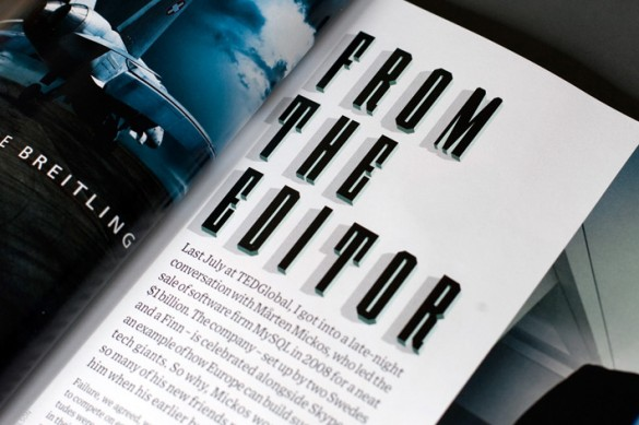 Wired Magazine Typeface by Studio8 Design