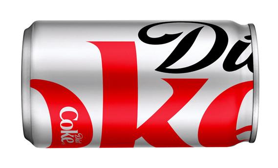 New Diet Coke can design