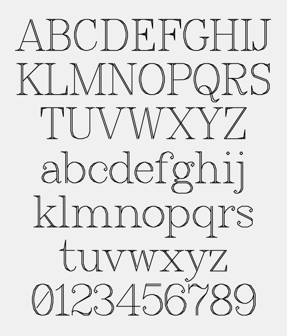 Specimen from fontseek.info