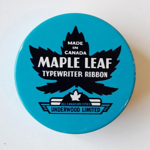 Janine Vangool's typewriter ribbon tin collection