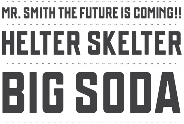 Font designed by Leon Sloth