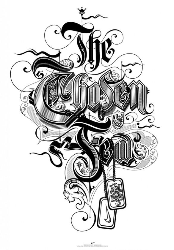 The typographic work of Like Minded Studio