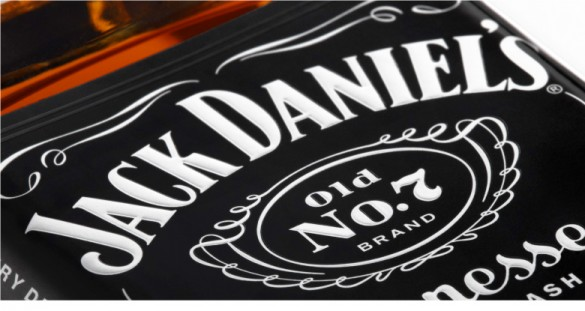 Jack Daniel's label redesign by Cue
