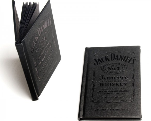 Jack Daniel's booklet by Cue