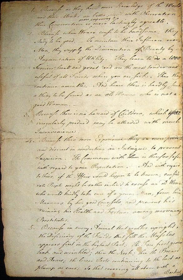 Letters of note: Benjamin Franklin