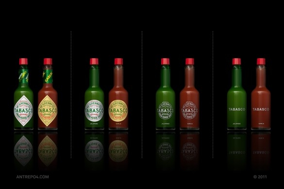 Minimal packaging experiment by Antrepo