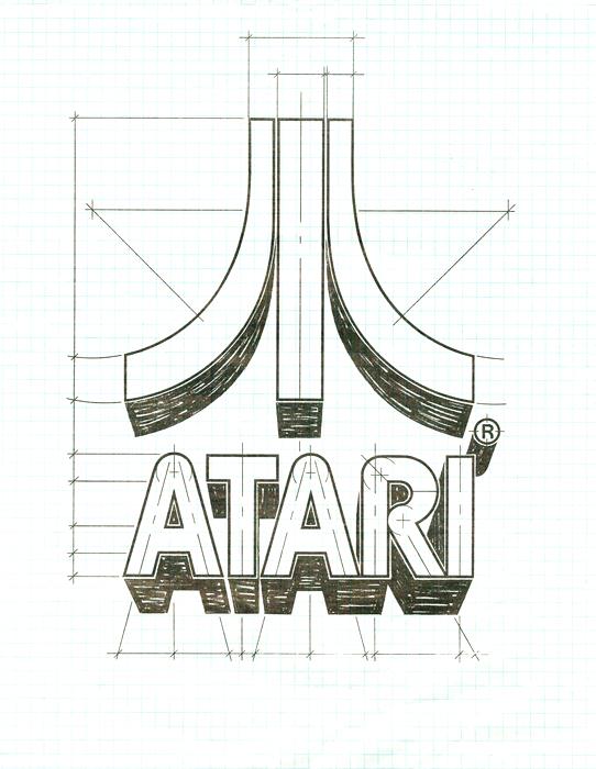 Atari logo design by George Opperman