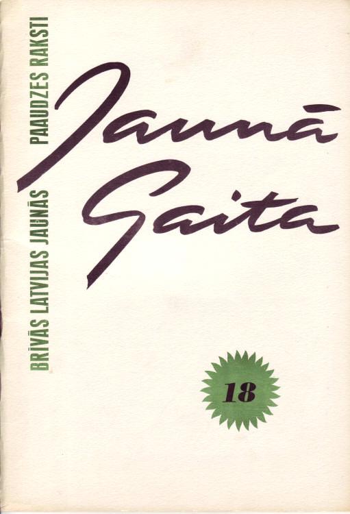Jaunā Gaita magazine covers