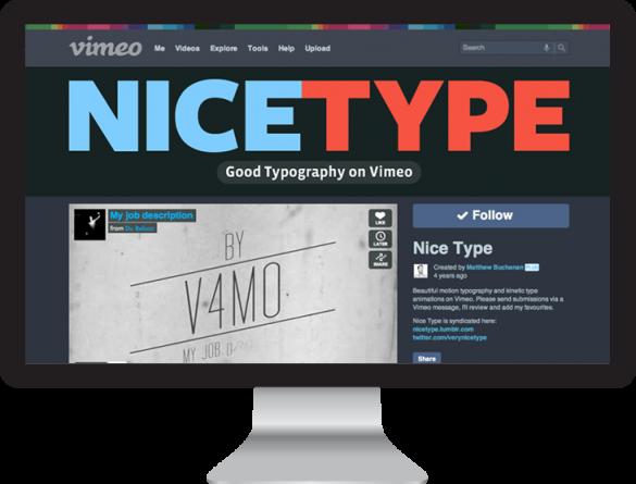 Nice Type on Vimeo