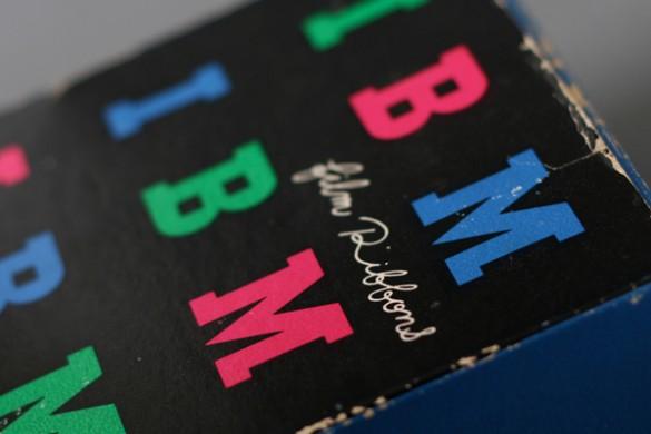 Paul Rand IBM packaging