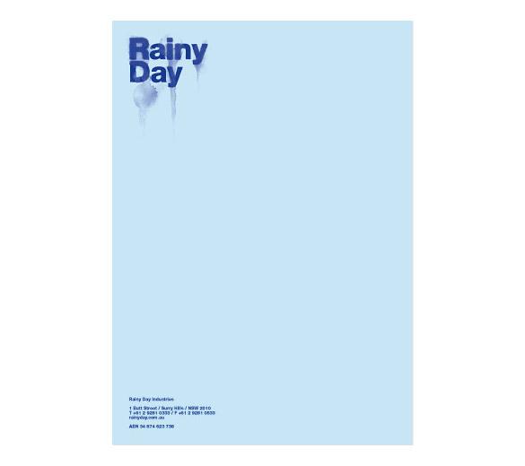 Rainy Day identity
