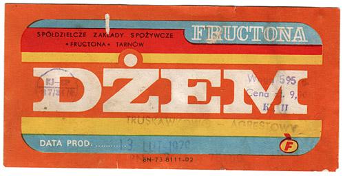 Vintage Polish chocolate packaging
