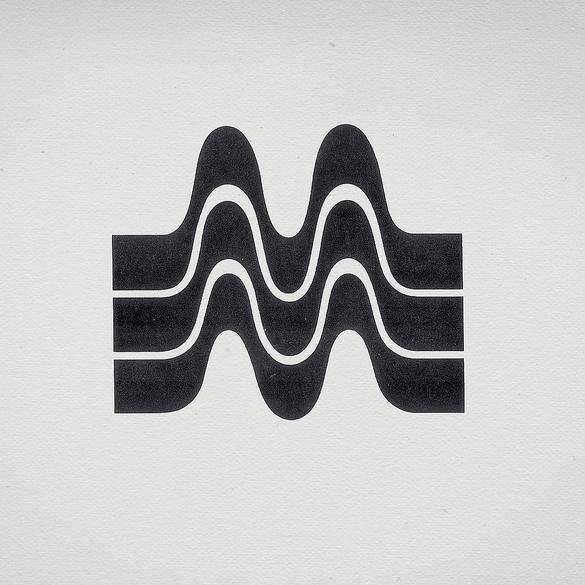 Retro monogram