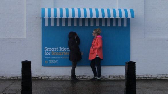 IBM Smarter Cities billboards