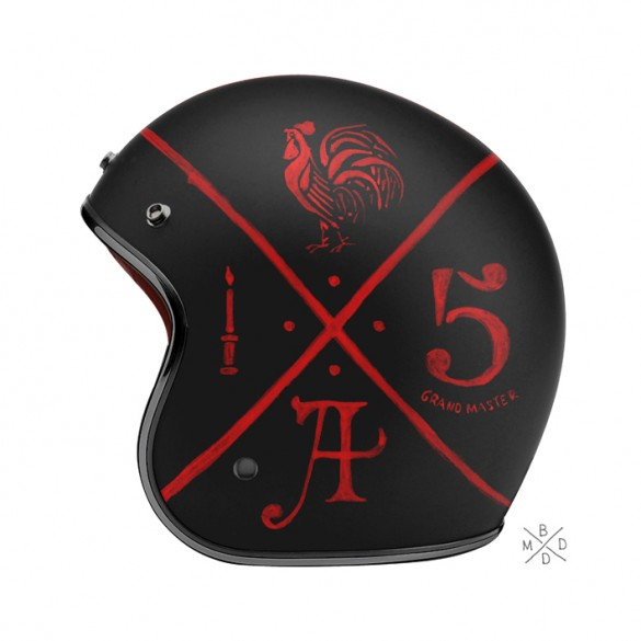 Hand Painted motorcycle helmets by BMD Design
