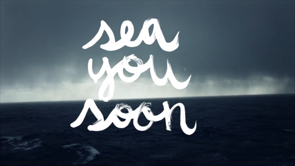 Surf video lettering